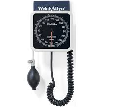 ESFIGMOMANÓMETRO ANEROIDE DE PARED (BLANCO) WELCH ALLYN WA7670-01 CON BRAZALETE REUSABLE FLEXIPORT® PARA ADULTO