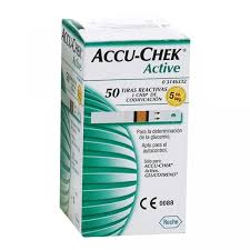 TIRAS REACTIVAS ACCU-CHEK® ACTIVE GLUCOSA