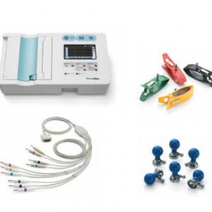 ELECTROCARDIOGRAFO CP50 BASICO CON ELECTRODOS REUSABLES WELCH ALLYN WACP50A-3ES1